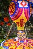 Las Vegas Wynn kwiatu hotelowa instalacja Obrazy Royalty Free