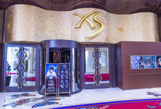 Las Vegas XS Night club. LAS VEGAS - APR 23 : The XS Night club in Encore hotel in Las Vegas on April 23 2015. The XS  named the number one nightclub in the Royalty Free Stock Image