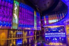 Las Vegas Zarkana. LAS VEGAS - MARCH 26 : Zarkana at the Aria hotel in Las Vegas on March 26 2015. Zarkana is a Cirque du Soleil stage production written and royalty free stock photo
