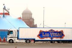 Las Vegas-Zirkus Lizenzfreie Stockfotos