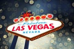 las Vegas - znak Zdjęcia Stock