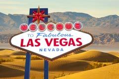 las Vegas - znak Obraz Stock