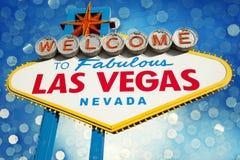las Vegas - znak Fotografia Royalty Free
