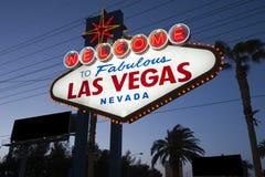 las Vegas - znak Zdjęcia Royalty Free