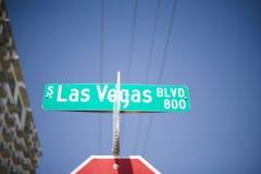 Las Vegas znak zdjęcie royalty free