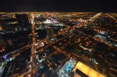 Las Vegas, Las Vegas, zona metropolitana, metrópoli, rascacielos, paisaje urbano imagen de archivo libre de regalías