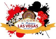 Las- Vegasfarbband Stockfotografie