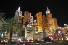 Las- Vegashotel Lizenzfreie Stockfotos