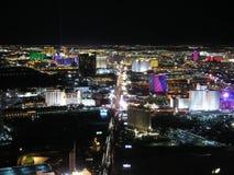 Las- Vegasnacht stockfotos