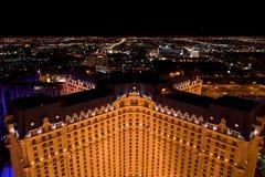 Las- Vegasnachtpanorama stockbilder