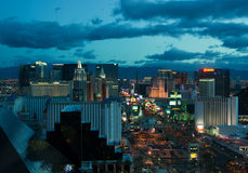 Las- Vegaspanorama Lizenzfreie Stockfotos