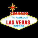 Las Vegasq Royalty-vrije Illustratie