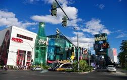 Las- Vegasstraße Lizenzfreies Stockbild