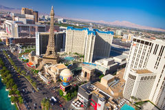 Las- Vegasstreifen stockfoto