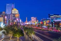 Las- Vegasstreifen Lizenzfreie Stockfotografie