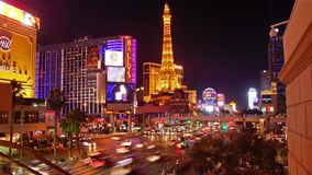 Las- Vegasstreifen stock video footage