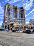 Las- Vegasstreifen Stockbild