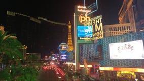 Las- Vegasstreifen nachts Lizenzfreie Stockfotos