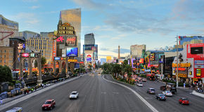 Las- Vegasstreifen, Vereinigte Staaten Stockbild
