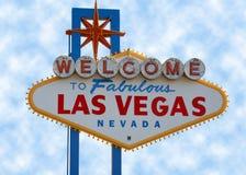 Las- Vegasstreifen-Zeichen Stockfotografie