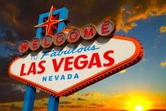 Las- Vegaszeichen Lizenzfreie Stockfotos