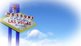 Las- Vegaszeichen stock video footage