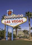 Las- Vegaszeichen Lizenzfreie Stockfotografie