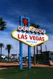 Las- Vegaszeichen Lizenzfreie Stockbilder