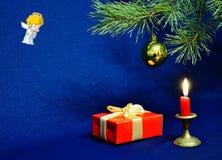 Las velas del Año Nuevo Fotografía de archivo libre de regalías