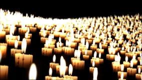 Las velas en la noche vuelan encima, primer