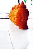 Las velas principales 2 de Buddha Imagen de archivo libre de regalías