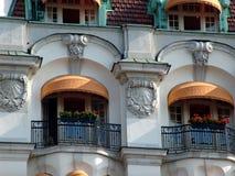 Las ventanas de Estocolmo Fotografía de archivo libre de regalías