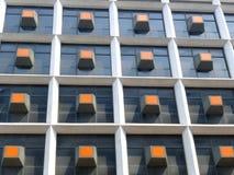 Las ventanas de la oficina Fotos de archivo libres de regalías