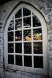 Las ventanas viejas hermosas Imagen de archivo libre de regalías