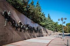 Las Ventas斗牛场室外看法在马德里 免版税库存照片