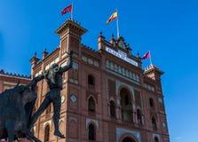 Las Ventas arena Royaltyfri Foto