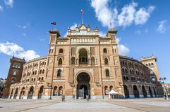Las Ventas Bullring in Madrid, Spain. Royalty Free Stock Image