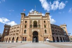 Las Ventas Bullring in Madrid, Spain. Stock Images