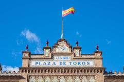Las Ventas Bullring in Madrid, Spain. Stock Images