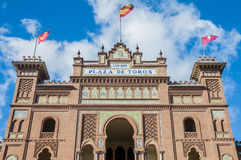 Las Ventas Bullring in Madrid, Spain. Stock Photo