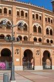 Las Ventas Bullring Plaza de Toros de Las Ventas στην πόλη της Μαδρίτης, Ισπανία Στοκ εικόνες με δικαίωμα ελεύθερης χρήσης