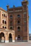Las Ventas Bullring Plaza de Toros de Las Ventas στην πόλη της Μαδρίτης, Ισπανία Στοκ φωτογραφίες με δικαίωμα ελεύθερης χρήσης