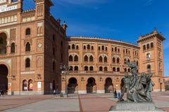 Las Ventas Bullring Plaza de Toros de Las Ventas στην πόλη της Μαδρίτης, Ισπανία Στοκ φωτογραφία με δικαίωμα ελεύθερης χρήσης