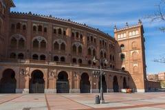 Las Ventas Bullring Plaza de Toros de Las Ventas στην πόλη της Μαδρίτης, Ισπανία Στοκ Φωτογραφίες