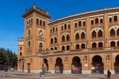 Las Ventas Bullring Plaza de Toros de Las Ventas in città di Madrid, Spagna fotografia stock