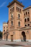 Las Ventas Bullring Plaza de Toros de Las Ventas in città di Madrid, Spagna immagine stock libera da diritti