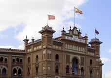 Las Ventas Fassade Stockbilder