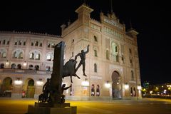 Las Ventas, Plaza de Toros, Μαδρίτη, Ισπανία Στοκ εικόνες με δικαίωμα ελεύθερης χρήσης