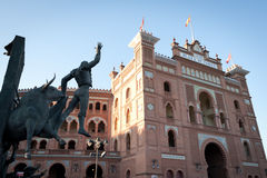 Las Ventas Plaza de Toros, Espagne Image stock