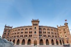 Las Ventas tjurfäktningsarena i Madrid, Spanien Royaltyfria Bilder